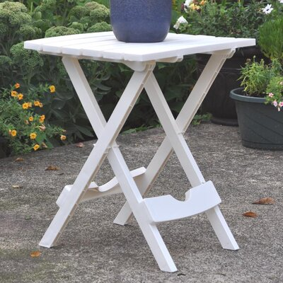 Quebec Side Table Finish: White