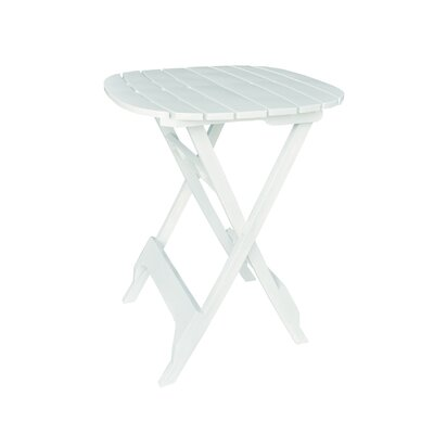Quebec Bistro Table Finish: White, Table Size: 34