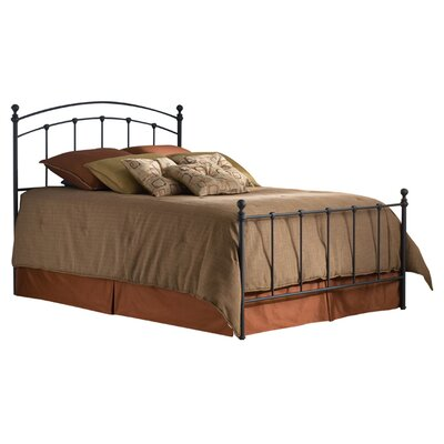 Espinosa Metal Panel Bed Size: Queen