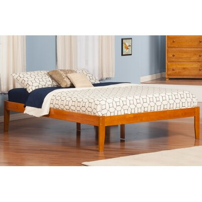 Mackenzie King Platform Bed Color: Caramel Latte
