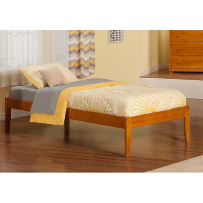 Mackenzie Extra Long Twin Platform Bed Finish: Caramel Latte