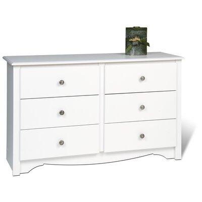 Sybil Condo 6 Drawer Dresser