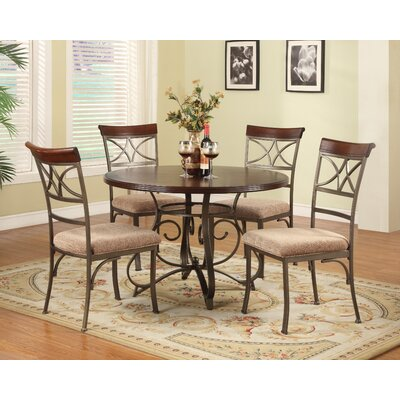 Gramann 5 Piece Dining Set