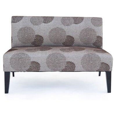 Cullen Sunflower Settee Upholstery: Bark