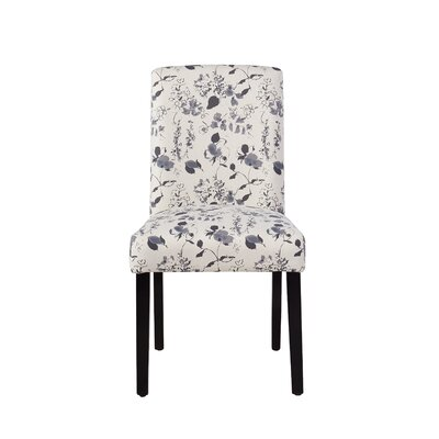 Buchanan Side Chair in Soft Blue Floral