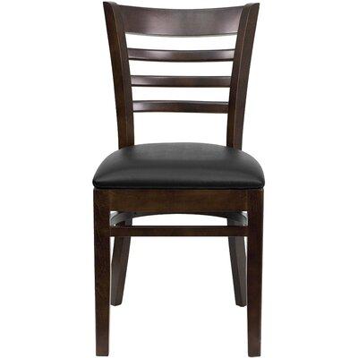 Lyman Chase Ladder Back Side Chair I Finish: Walnut