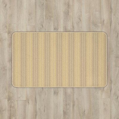 Ravens Beige Striped Area Rug