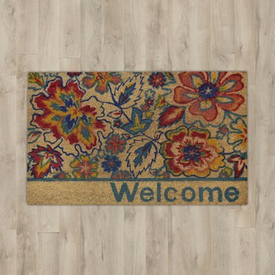 Carrie Floral Doormat