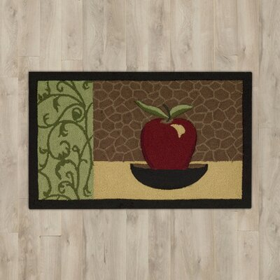 White Apple Area Rug