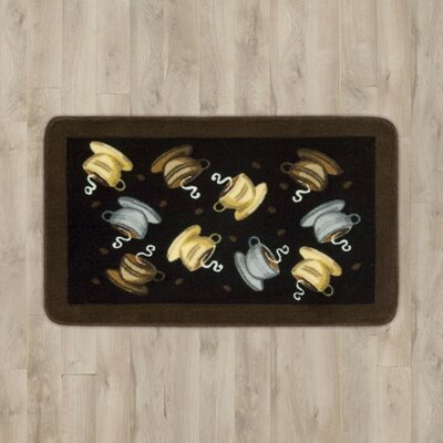 Greenmeadow Coffee Cups Area Rug