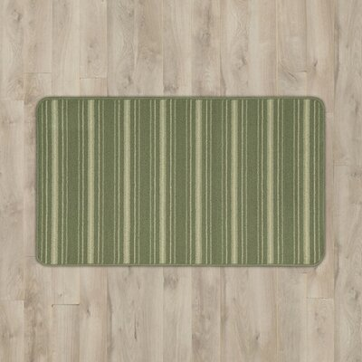 Ravens Light Green Area Rug Rug Size: Half Circle 17 x 28