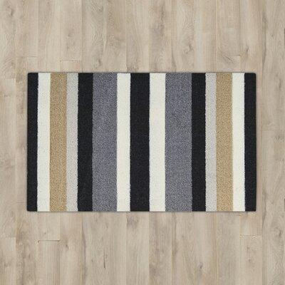 Nesmith Black/Gray Area Rug
