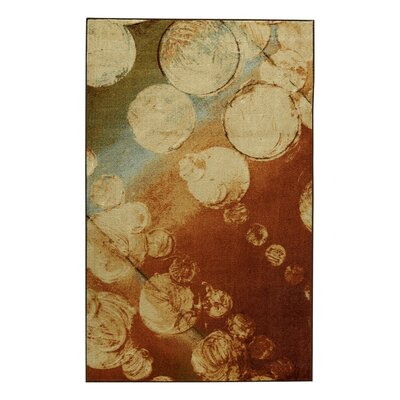 Beige/Brown Area Rug Rug Size: Rectangle 5 x 8