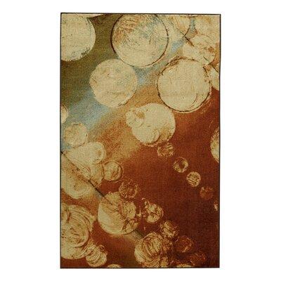 Antrim Rain Kaleidoscope Beige/Brown Area Rug Rug Size: 5 x 8