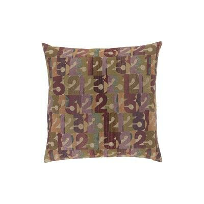 Riverdale Throw Pillow Color: Purple/Olive