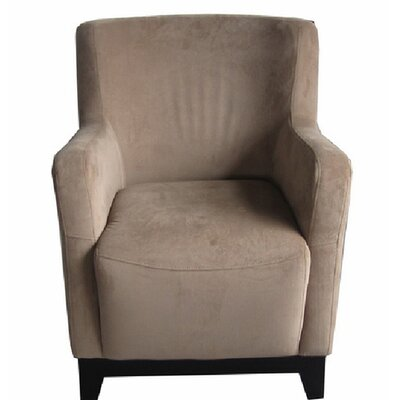 Alexandria Armchair Color: Camel