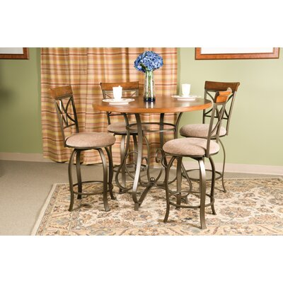 Burrill 5 Piece Counter Height Dining Set