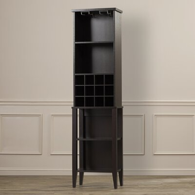 Farley 12 Bottle Floor Wine Cabinet