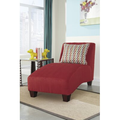 Emmons Chaise Lounge Upholstery: Spice