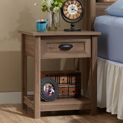 Leeds 1 Drawer Nightstand