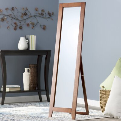 Standing Full Length Mirror Finish: Brown