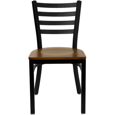 Bartlet Side Chair Color: Cherry Wood