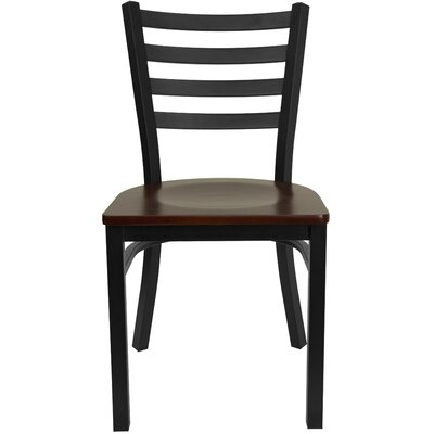 Bartlet Side Chair Color: Mahogany Wood