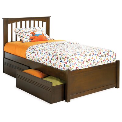 Arkwright Nollet Platform Bed Size: Twin