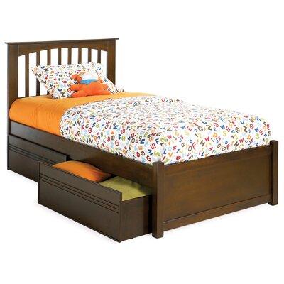 Davenport Nollet Platform Bed Size: Twin