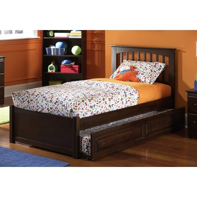 Davenport Platform Bed Size: Full, Finish: Natural Maple
