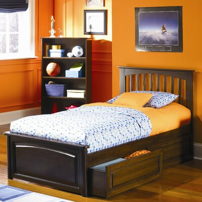 Davenport Adjustable Platform Bed Size: Twin