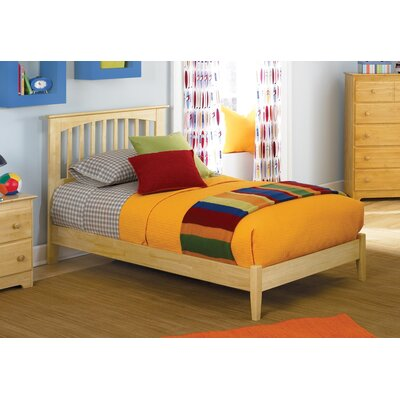 Arkwright Maple Platform Bed Size: Queen