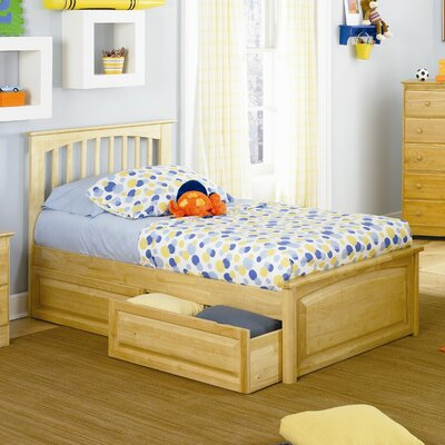 Davenport Eco-Friendly Platform Bed Size: Twin