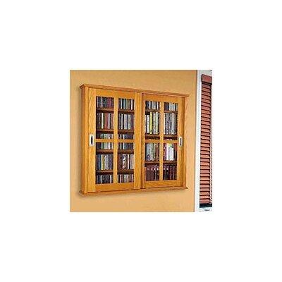 Jones Multimedia Wall Mounted Cabinet Finish: Oak