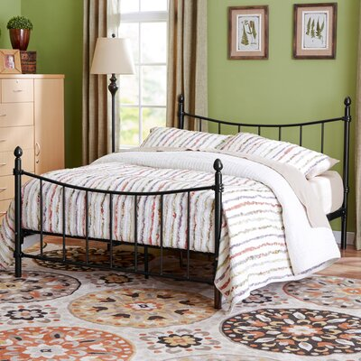 Merion Platform Bed Size: Twin, Color: Bronze