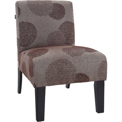 Slipper Chair Upholstery: Bark Sunflower