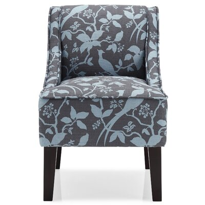 Hilbert Slipper Chair Upholstery: Teal