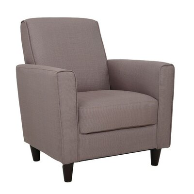 Farnsworth Solid Arm Chair Upholstery: Pebble Stone