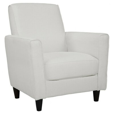 Farnsworth Solid Arm Chair Upholstery: Glacier