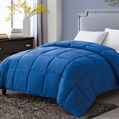 Antonia Paradise Down Alternative Comforter Color: Blue, Size: Twin