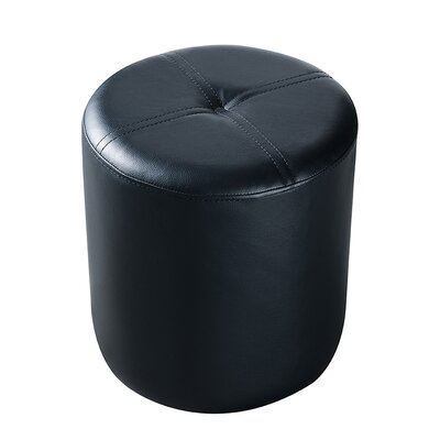 Maxine Round Stool Color: Black
