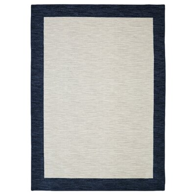 Samantha Gray/Navy Area Rug Size: Rectangle 5 x 8