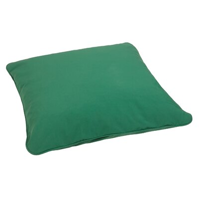 Bennett Floor Pillow Color: Hunter Green