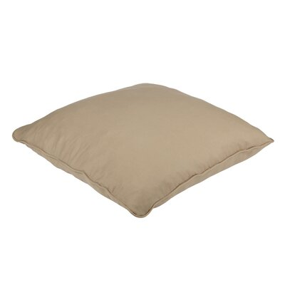 Bennett Floor Pillow Color: Khaki