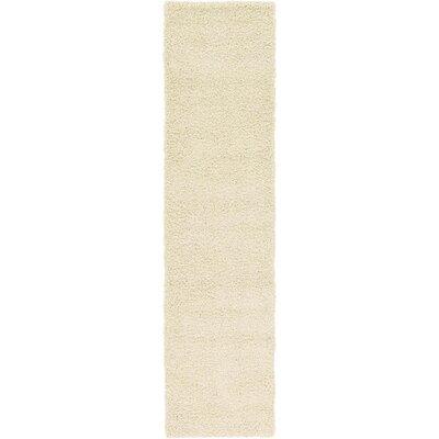 Lilah Basic Ivory Area Rug Rug Size: Runner 22 x 65