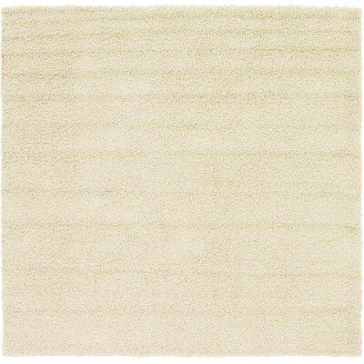 Lilah Basic Ivory Area Rug Rug Size: Square 82