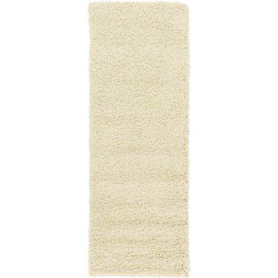 Lilah Basic Ivory Area Rug Rug Size: Runner 26 x 10