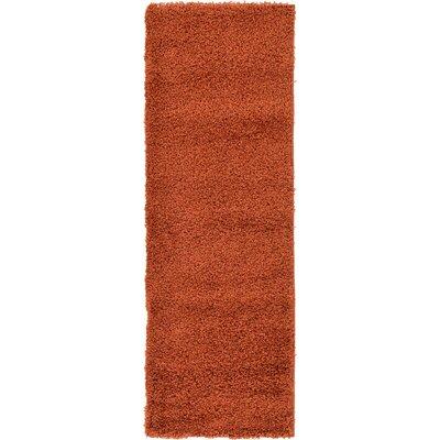 Lilah Basic Terracotta Area Rug Rug Size: Runner 2 x 6