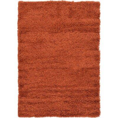 Lilah Basic Terracotta Area Rug Rug Size: 7 x 10