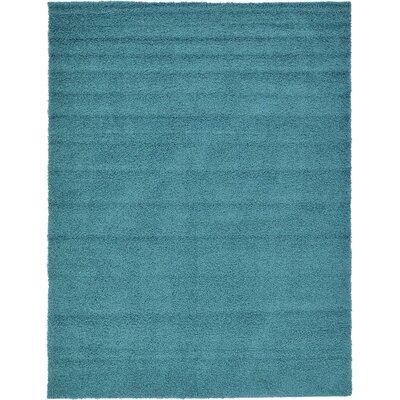 Lilah Basic Slate Blue Area Rug Rug Size: 9 x 12, Color: Blue